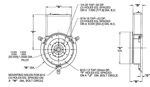 Ball Bearing Capstan Servo  Bbcs  Rotary Tables By A  G